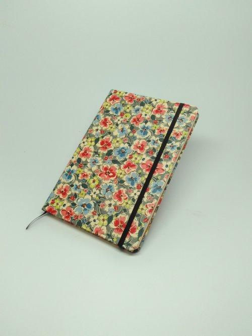 Nordeskine polen pontilhado tamanho A6 - Floral