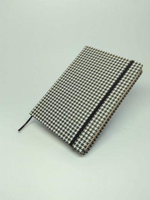 "Nordeskine pontilhado tamanho A5 - Pied-de-poule (""xadrez"")"