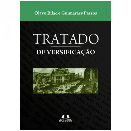 Tratado de versificação - Olavo Bilac e Guimarães Passos