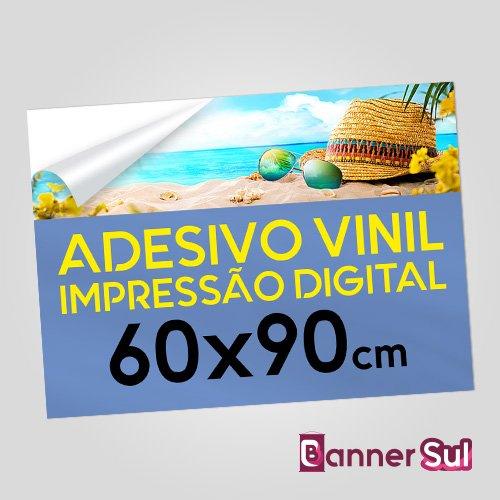 Adesivo Vinil Impressão Digital 60x90cm