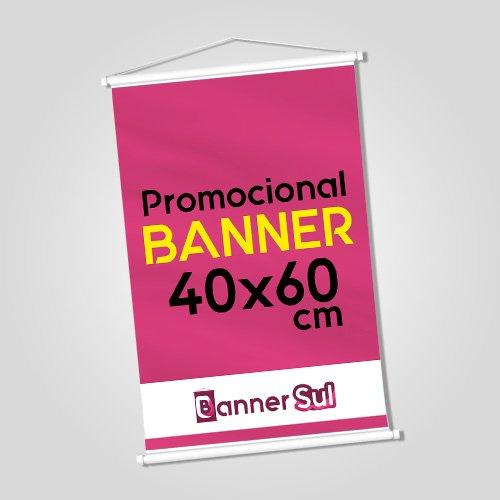 Banner Impresso 40x60cm