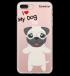 Miniatura - I Love My Pug
