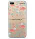 Miniatura - Seu Nome Flamingos e Folhas