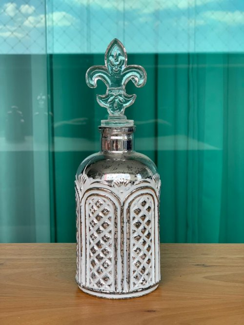 Garrafinha perfumeira prata