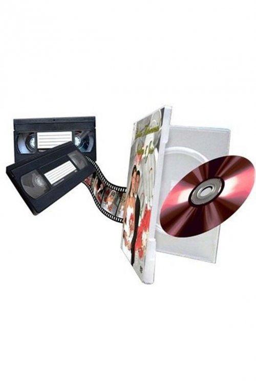 CONVERSÃO DE FITAS VHS PARA DVD