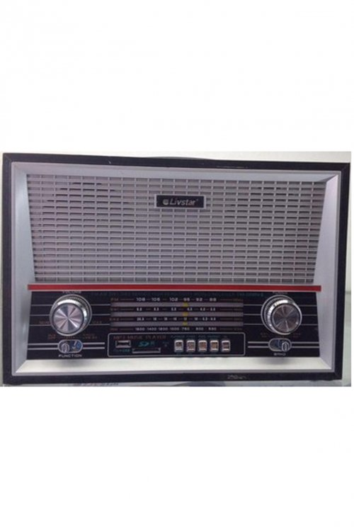 RADIO AM/FM LIVSTAR RETRO