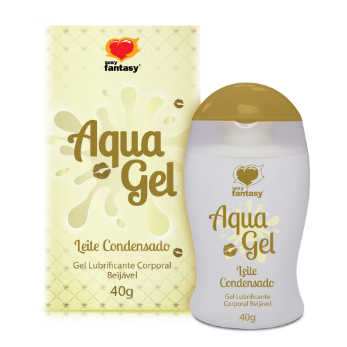 AQUAGEL BEIJÁVEL LEITE CONDENSADO 40G