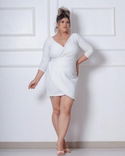 {Mayana} Vestido Curto Tubinho Transpassado em Lurex Noiva Casamento (cor Branco)