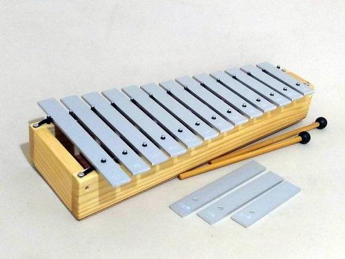Glockenspiel Orff Contralto 16 Tons (C5 a A6)