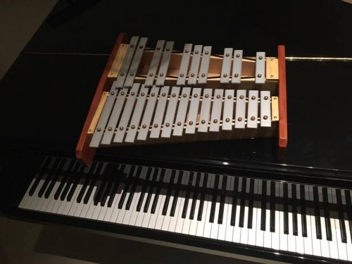 Metalofone Cromático Duas Oitavas (Master) Lá 432 Hz