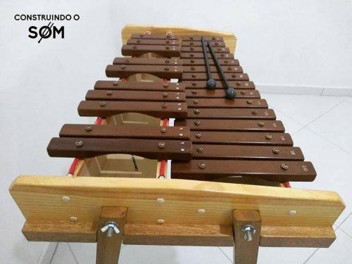 Xilofone Cromático Duas Oitavas (C5 a C7)