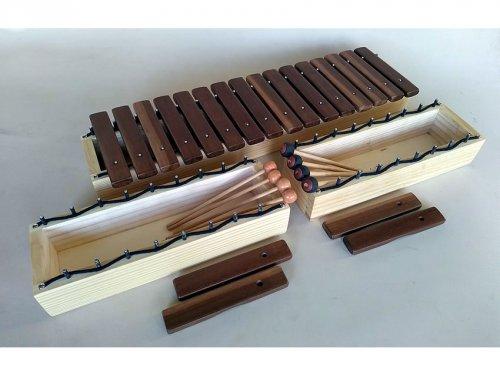 Xilofone para Treinamento Auditivo - 'Kit' 20 Tons (C6 a C7)