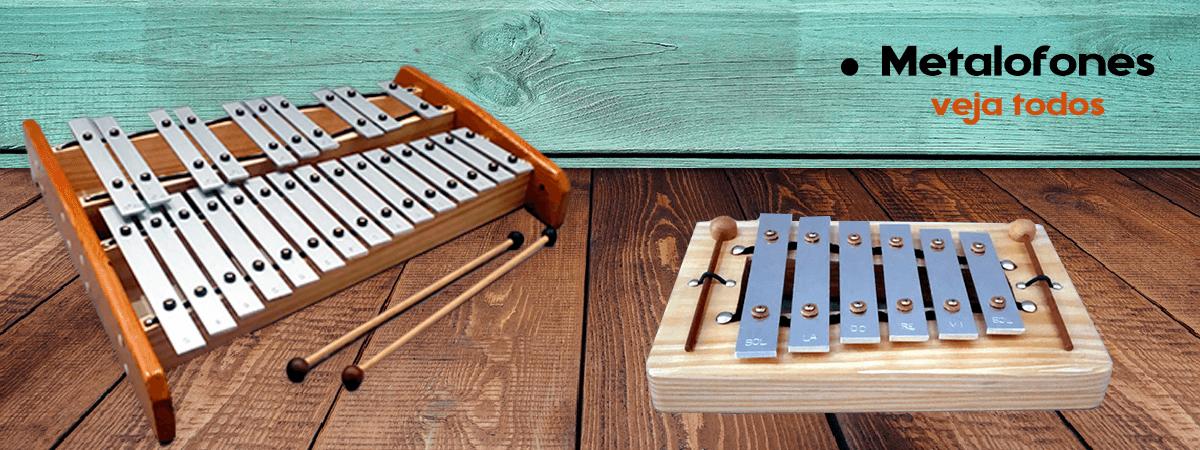 Metalofones - instrumentos musicais , veja mais modelos na loja Construindo o Som.