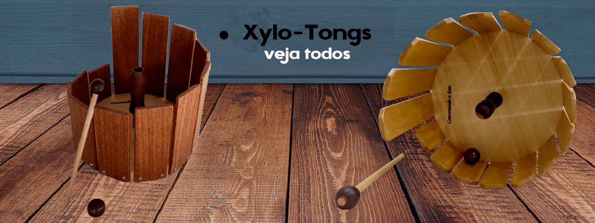 Xylo-Tongs, instrumentos musicais, veja mais modelos na loja Construindo o Som.