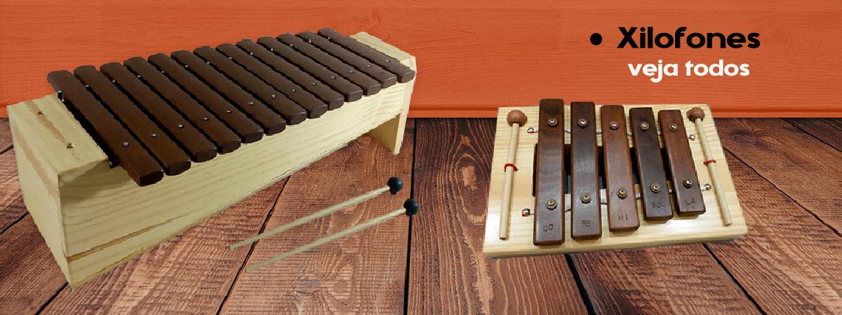 Xilofones, instrumentos musicais veja mais modelos na loja Construindo o Som.