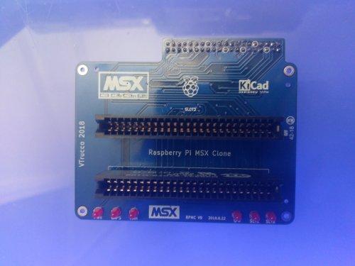 Adaptador MSX Pi