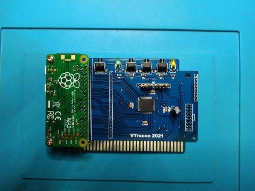 Placa de video HDMI para Apple IIe e clones