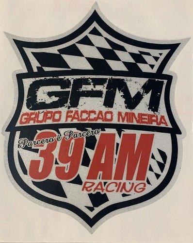 Adesivo Escudo GFM - 22cm x 18cm