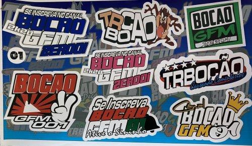 Adesivo sticker TR BOCÃO 01