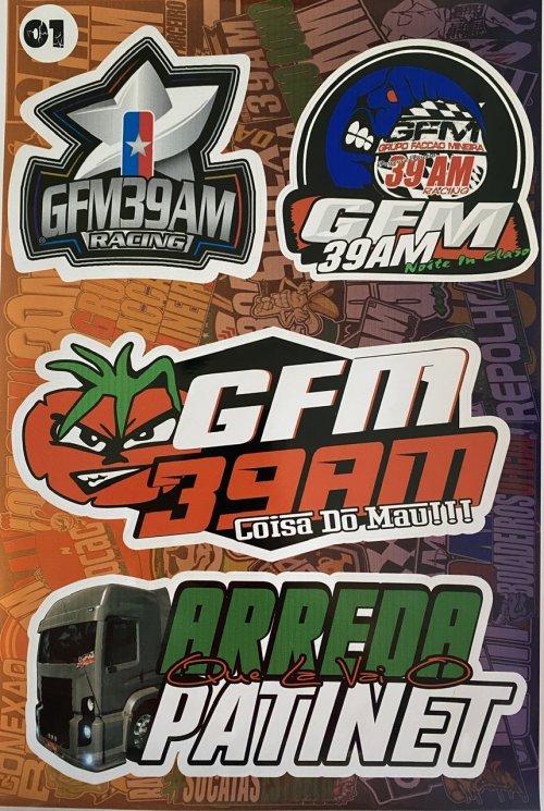 Adesivo sticker GFM 01