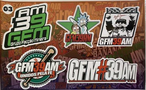 Adesivo sticker GFM 03