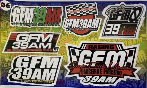 Adesivo sticker GFM 06