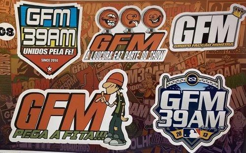 Adesivo sticker GFM 08