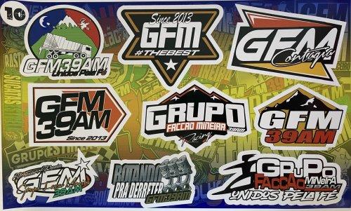 Adesivo sticker GFM 10