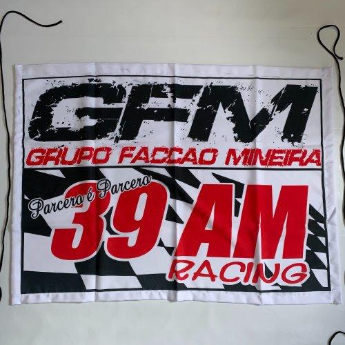 Bandeira GFM de pano.