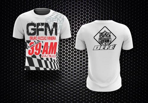 Camiseta Bandeira GFM Vermelha/Azul/Verde