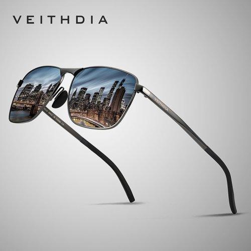 Óculos de Sol UV400 New York Veithdia Polorizado