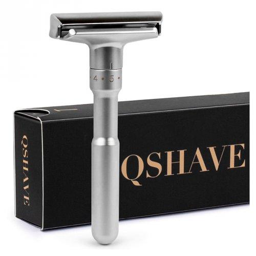 Barbeador Ultra Premium Razor QSHAVE  + 5 Laminas Titanium