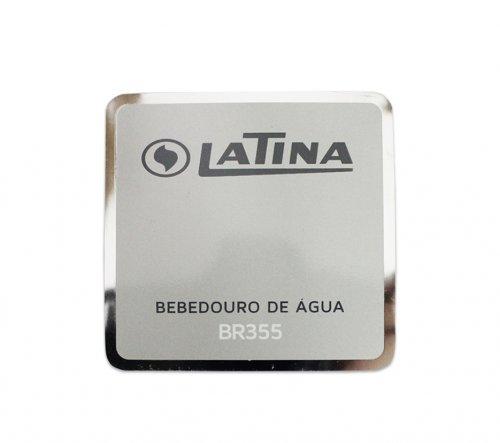 Adesivo Frontal para Bebedouro BR355 Latina Original