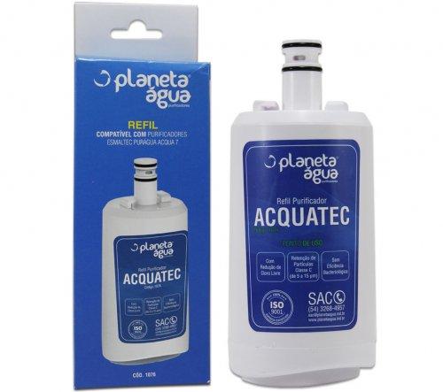 Filtro (Refil) para Purificador de Água Esmaltec Acqua7 - Compatível