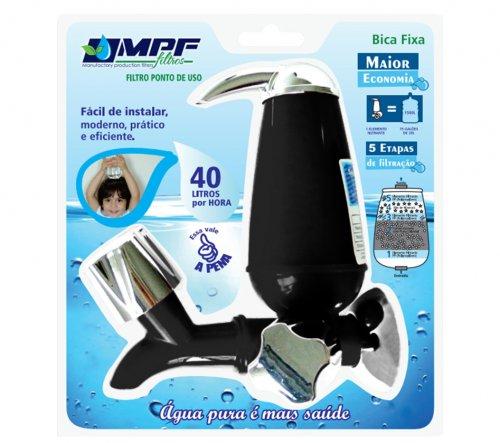 Torneira Compacta Filtro Purificador Preto MPF 160316