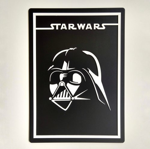 Quadro Star Wars - Darth Vader