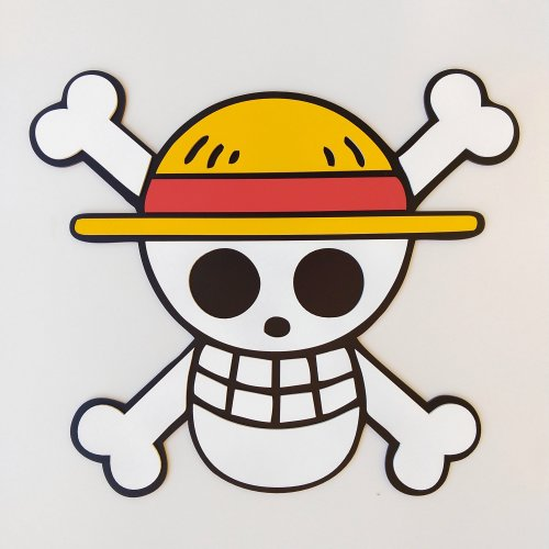 Símbolo One Piece - Monkey D. Luffy