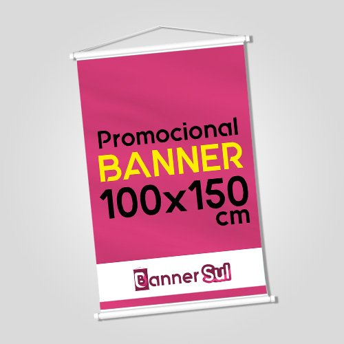 Banner Impresso 100x150cm