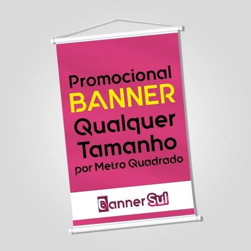 Banner Impresso por Metro Quadrado