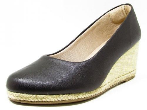 Sapato Anabela Preto - 9516 Cass