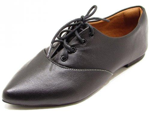Sapato Oxford Preto - 5025 Cass