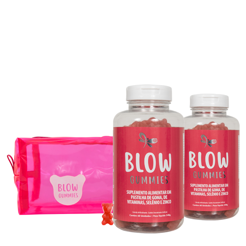 Blow Gummies 120 Dias de Tratamento