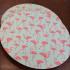 Miniatura - Kit Sousplat Flamingos 6 peças