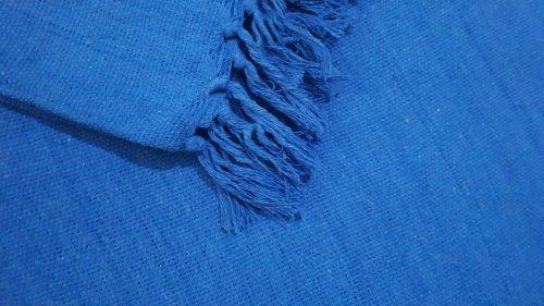 Manta de Sofá Casal Azul Royal