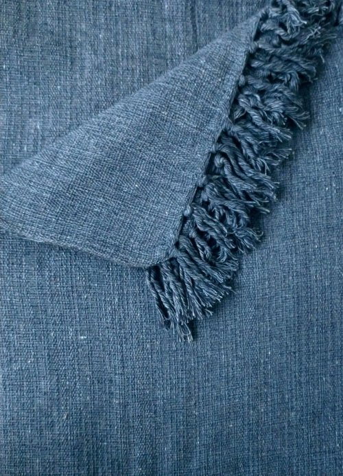 Manta de Sofá Casal Azul Jeans