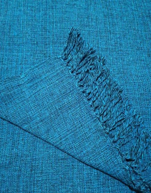 Manta de Sofá Super King Azul Jeans