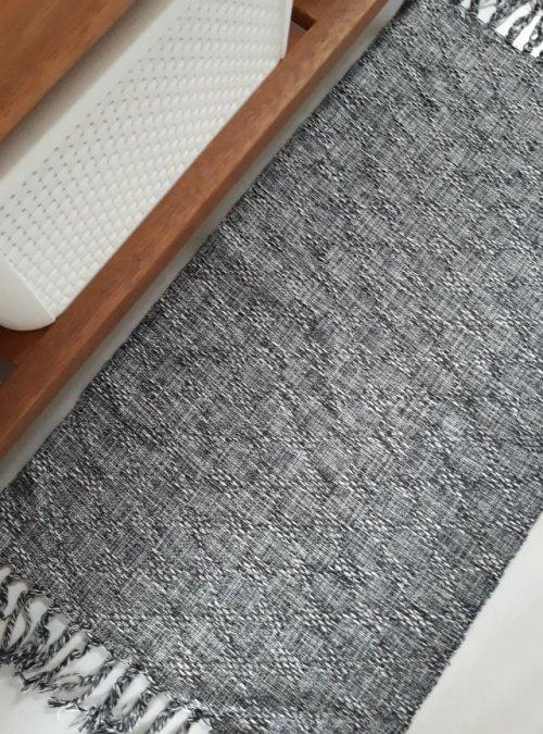 Tapete Multiuso de Linha Cinza Mesclado