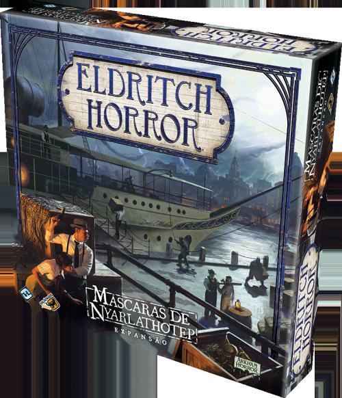 Eldritch Horror: Máscaras de Nyarlathotep