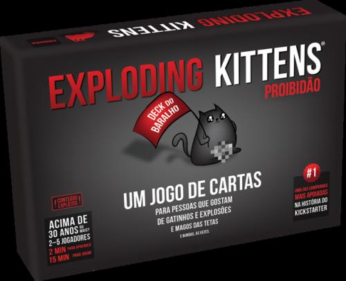 Exploding Kittens: Proibidão