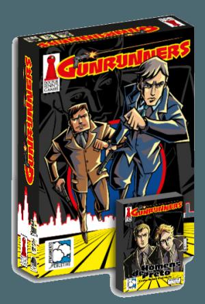 """Gunrunners + Expansão """"Homens de Preto"""""""